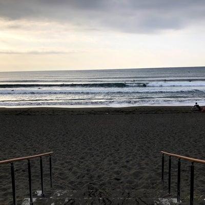 今朝の湘南の波、ありますよ~!の記事に添付されている画像