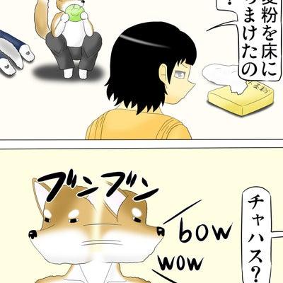 獣人柴犬と女の子の日常4コマ漫画「カナぴーとしばさん」190話の記事に添付されている画像