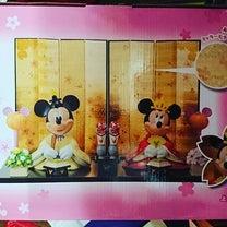 ミッキーミニーの親王飾り可愛いよ!!!の記事に添付されている画像
