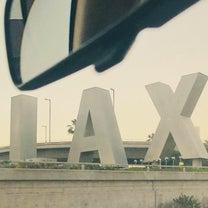 ロサンゼルスへのフライトの記事に添付されている画像