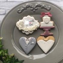 ウェディングクッキー♡の記事に添付されている画像
