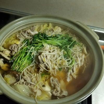 豆苗鍋の記事に添付されている画像