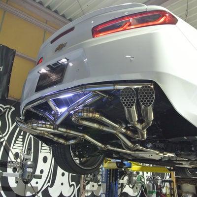 製作車両 現行カマロLT-RS@M様 ワンオフマフラー&トラスフレーム編の記事に添付されている画像