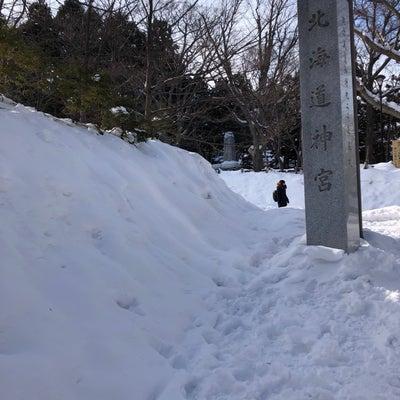 気が◯◯◯◯に似ている!@北海道神宮の記事に添付されている画像