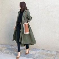 女子力高いミリタリーコートの記事に添付されている画像