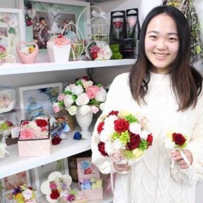 結婚式のブーケは手作りで持ちたくて プリザーブドフラワーウエディングレッスンの記事に添付されている画像