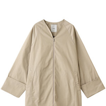 ebure VERY3月号牧野紗弥さん着用ハイカウントツイルノーカラーロングコーの記事に添付されている画像