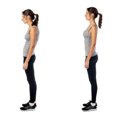 ダイエットをしてくびれを作るなら、まず姿勢改善からの記事に添付されている画像
