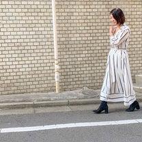 プチプラ☆色違いも気になる春らしいストライプワンピース☆の記事に添付されている画像