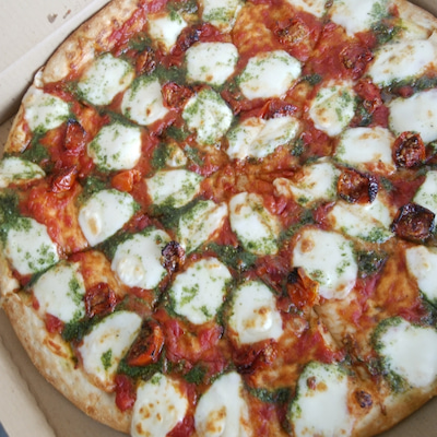 コストコの新しいピザの記事に添付されている画像