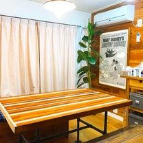 【簡単・激安DIY】ダイニングテーブル作り方の記事に添付されている画像