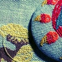 きょうの制作: 月を縫う。の記事に添付されている画像