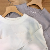 Round Knit Pulloverの記事に添付されている画像