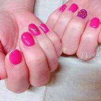 薄いピンクが濃いピンクになるように…❤︎の記事に添付されている画像