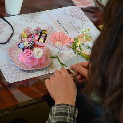 大人のひなまつり~プリザーブドアレンジ~浜離宮の記事に添付されている画像