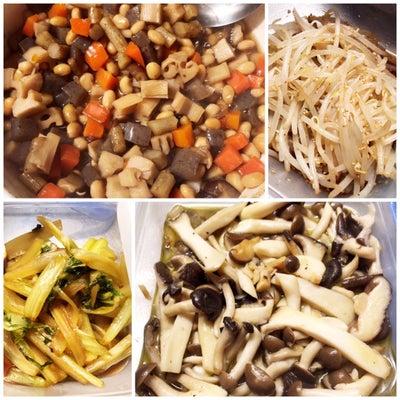 お休みの日の常備菜作り。の記事に添付されている画像