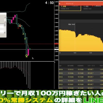 忍システム実践者取引実績大公開!たった2日間で利益10万円!?の記事に添付されている画像