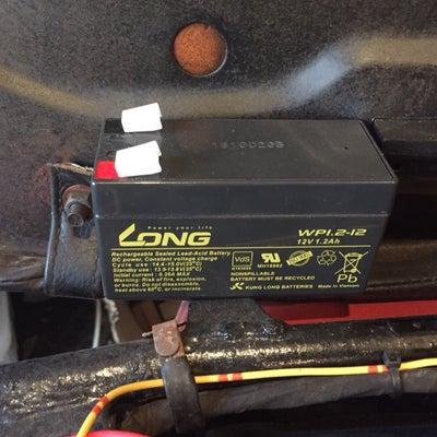 バンバン90のバッテリー交換完了の記事に添付されている画像