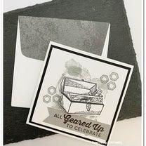 カッコよく!男性にも手作りカードを贈りたい。大好きなギアのスタンプセットで。の記事に添付されている画像