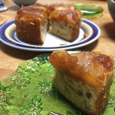 スカスカりんごの活用ケーキ・タルトタタン風の記事に添付されている画像