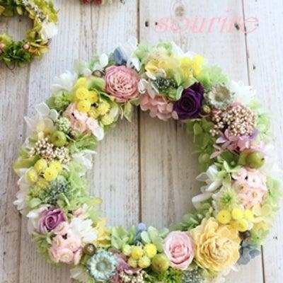 春色リース♪の記事に添付されている画像