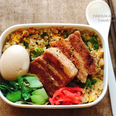 ぱぱっと出来て朝楽ちん、大満足の丼弁当!豚バラの煮物でアレンジレシピも!の記事に添付されている画像