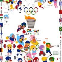 オリンピック刺繍、進みました~~!の記事に添付されている画像