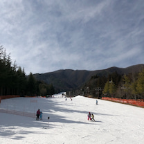 スキーとプールと餃子の記事に添付されている画像
