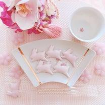 桜色♡うさぎの箸置き♡の記事に添付されている画像