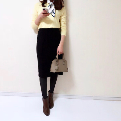 【UNIQLO】史上最高に着痩せする名品スカート/届いて大興奮した春ニット^^の記事に添付されている画像