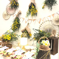 ミモザパーティー -バースデープランナーが手掛けたお洒落ミモザパーティー装飾-の記事に添付されている画像