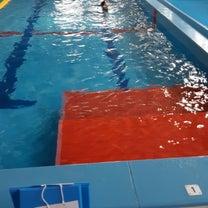 本日のウォーターボール in 上津プールの記事に添付されている画像