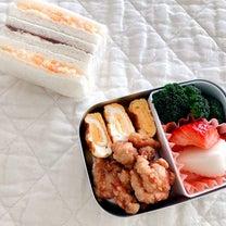 サンドイッチ弁当の記事に添付されている画像