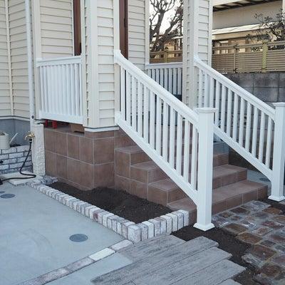 階段手すり完成の記事に添付されている画像