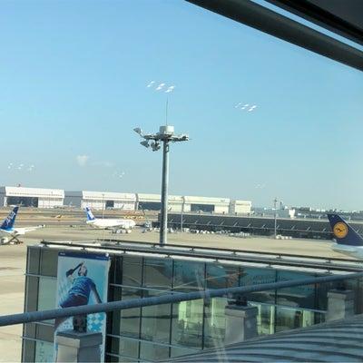 行ってきま~す!羽田空港にての記事に添付されている画像