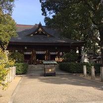 街中にある若宮八幡社への記事に添付されている画像