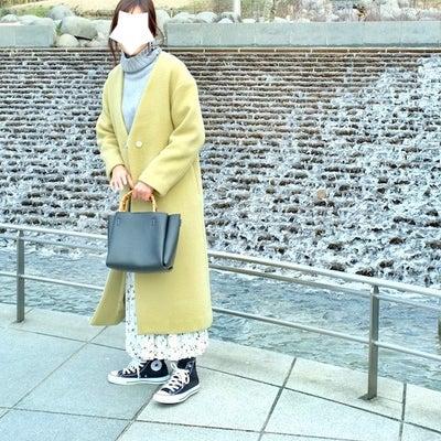 可愛いがすぎる!ZAKKABOXの花柄プリーツキュロットで休日スニーカーコーデの記事に添付されている画像
