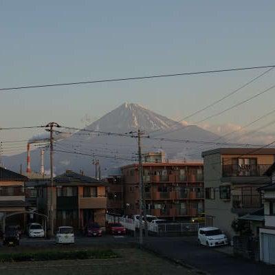 2019-01-24 朝の富士山の記事に添付されている画像