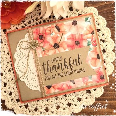 プレゼントカードとクラスプロジェクトの記事に添付されている画像