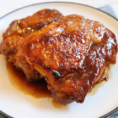 【簡単!鶏肉レシピ】調味料は2つだけ!照り照り♪鶏もも肉の照り焼きの記事に添付されている画像