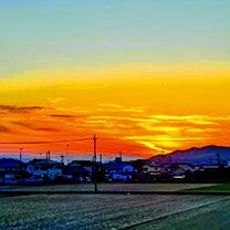 ∞絵画のような美しい夕陽∞の記事に添付されている画像