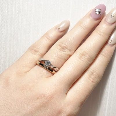 シンプルだけど他には無い和風の婚約指輪&鍛造技法で作られた丈夫な結婚指輪 雅 表の記事に添付されている画像
