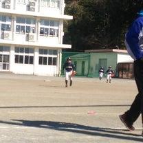 練習試合の記事に添付されている画像