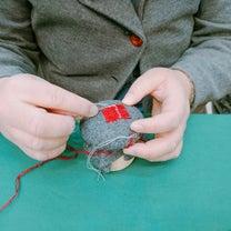 新しい「手芸」ダーニングは人気でした♪福岡手作りフェア2019の様子の記事に添付されている画像