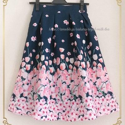*Annette購入品♡チューリップスカート&リボンフリルニット*の記事に添付されている画像