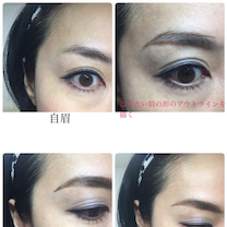 眉毛レッスン、コンシーラーの使い方。の記事に添付されている画像