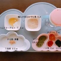 7m25d♡鶏ひき肉(胸肉)デビューと手形アート♪の記事に添付されている画像