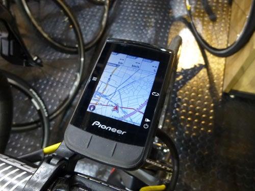 PIONEER GPS CYCLE COMPUTER SGX-CA600 SPEED METER パイオニア サイクルコンピューター メーター スピード