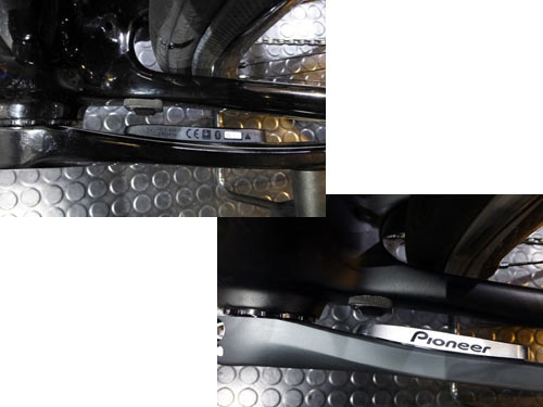 PIONEER SGY-PM930H L/R POWER METER PEDALING MONITOR SENSOR LEFT パイオニア ぺダリングモニターセンサー パワーメーター 左