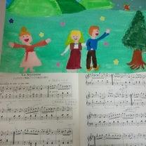 ブルグミューラー 生徒さんが曲のイメージで絵を描いてくれましたの記事に添付されている画像